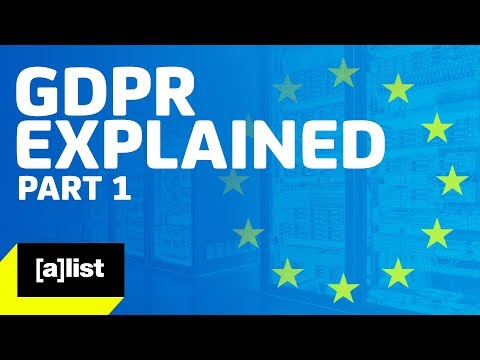 GDPR Explained: Part I