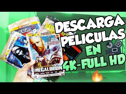COMO DESCARGAR PELICULAS GRATIS 2018 / Bluray, 4k, Full hd, En español latino, Ingles.