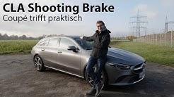 2020 Mercedes-Benz CLA 250 4MATIC Shooting Brake (X 118) Test / Coupé mit Kofferraum  - Autophorie