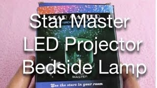 Star Master Led Projector Bedside Lamp