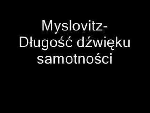 Клип Myslovitz - Dlugosc dzwieku samotnosci