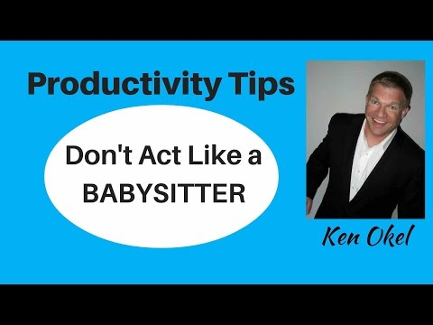 Productivity Tip - How to Save Time at Work