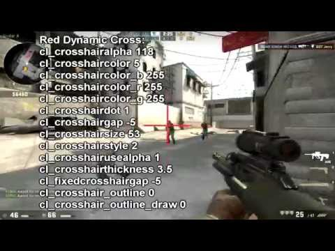 how do i change my cs go crosshair