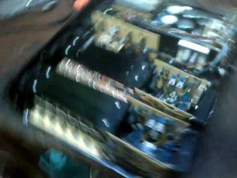 Testul de sunet al amplificatorului home made in 4 canale