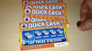 20 - £1 national lottery scratchcard challenge, quick cash