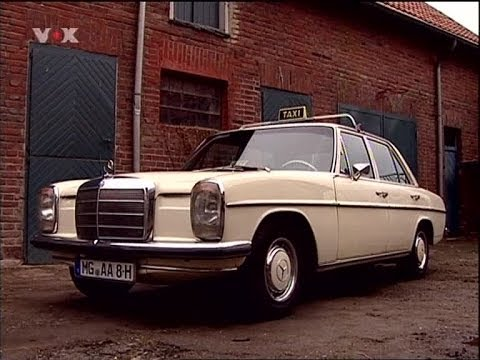 oldtimer mercedes benz 200d 8 w115 youtube. Black Bedroom Furniture Sets. Home Design Ideas