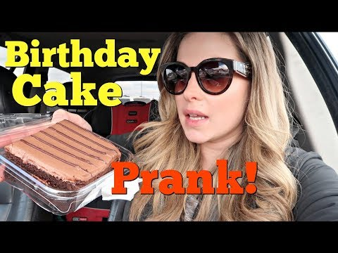 BIRTHDAY CAKE PRANK - Pranksters in Love Family