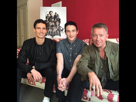 LIVE ON TWITTER  Cory Michael Smith, Robin Lord Taylor & Sean Pertwee
