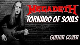 Megadeth | Tornado of Souls | guitar cover [hq/uhd] видео