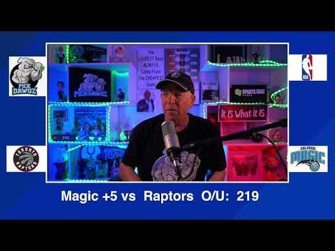 Orlando Magic vs Toronto Raptors 2/2/21 Free NBA Pick and Prediction NBA Betting Tips