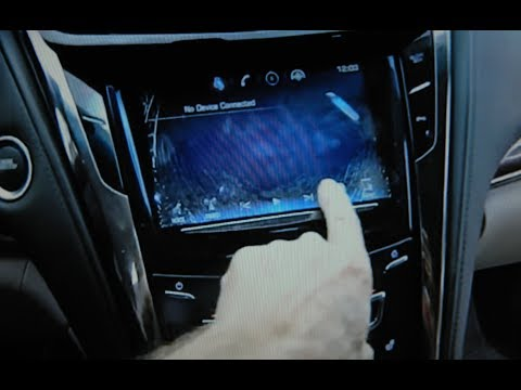Cadillac CTS Cracked Display, Removal for Repair