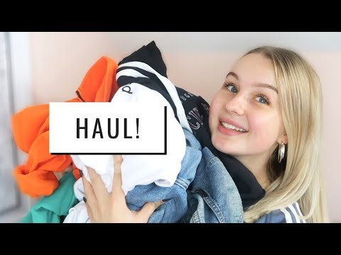 AUTUMN TRY ON CLOTHING HAUL! | asos, bershka, nike & more!