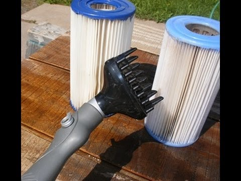 Clean your above ground pool filter youtube - How to clean a dirty swimming pool ...