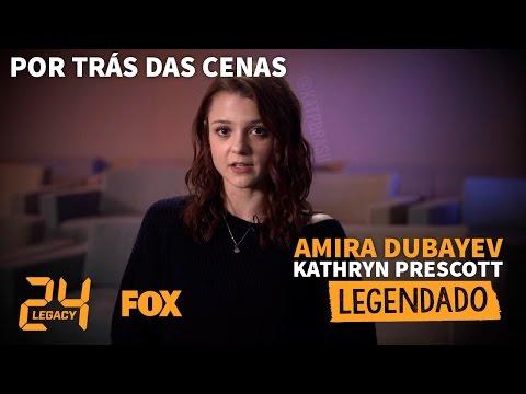 24:LEGACY  Amira Dubayev  Kathryn Prescott Legendado PTBR