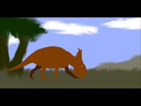 PPBA Daspletosaurus vs Pachyrhinosaurus