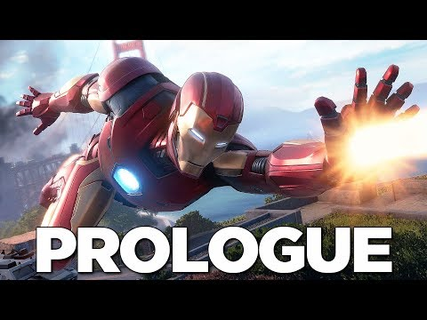 "MARVEL'S AVENGERS GAMEPLAY ""PROLOGUE"" REACTION (Walkthrough Gameplay Part 1)"