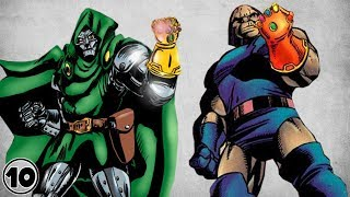 Top 10 Super Villains Who Wielded The Infinity Gauntlet