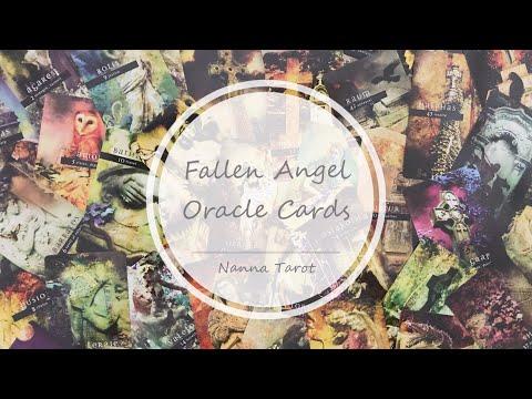 開箱  墮落天使神諭卡 • Fallen Angel Oracle Cards // Nanna Tarot