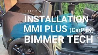 English BMW i3 BimmerTech's MMI Plus CarPlay Installation Tutorial