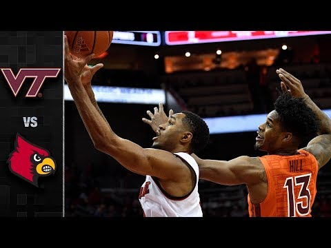 Virginia Tech vs. Louisville Basketball Highlights (2017-18)