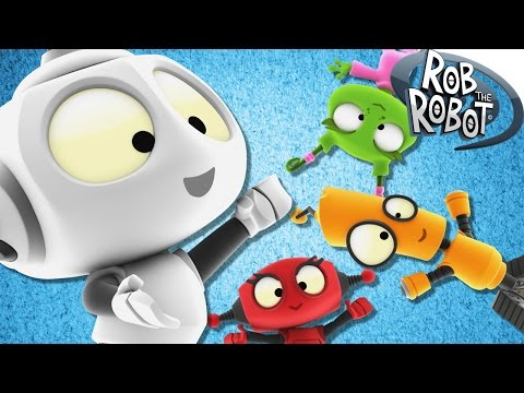 Adventures Of Rob And Friends | Cartoons For Children | Rob The Robot