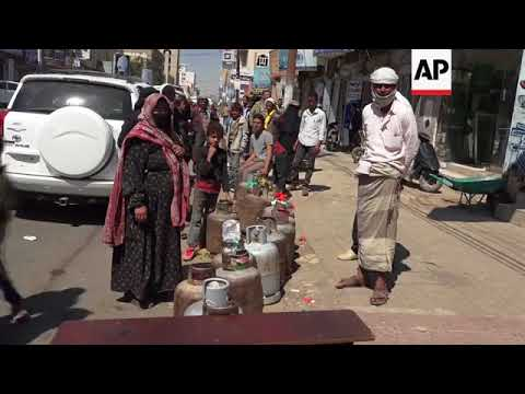 Long queues for fuel, medical treatment, as Yemen blockade bites