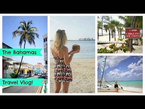 Bahamas Travel Vlog; Nassau, Bahamas Food Tour, Sandals Nassau, Paradise Island & more! | EmTalks