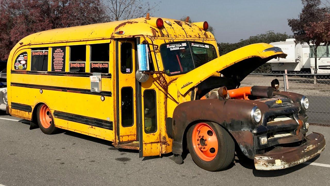 RAT ROD School Bus!? - YouTube