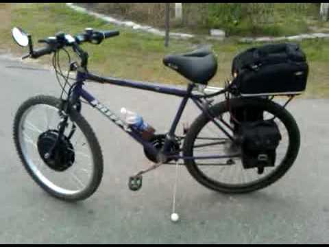 how to make a battery powered bike