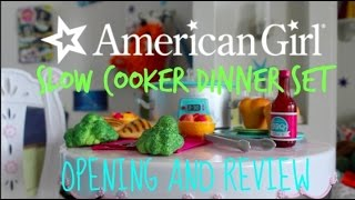 Slow Cooker Dinner Set- Opening + Review!