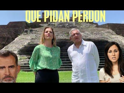 Más videos imperdibles sobre el pedido de López Obrador al Rey de España.