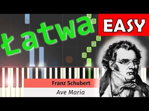 🎹 Ave Maria (F. Schubert) - Piano Tutorial (łatwa wersja) (EASY) 🎹