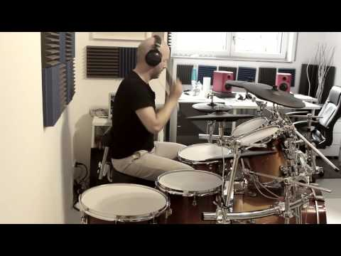 Adele - Rolling in the deep (live) - Drum Cover (Allaire Studios SDX) #43