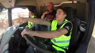 Marc Márquez con Scania encamion.com