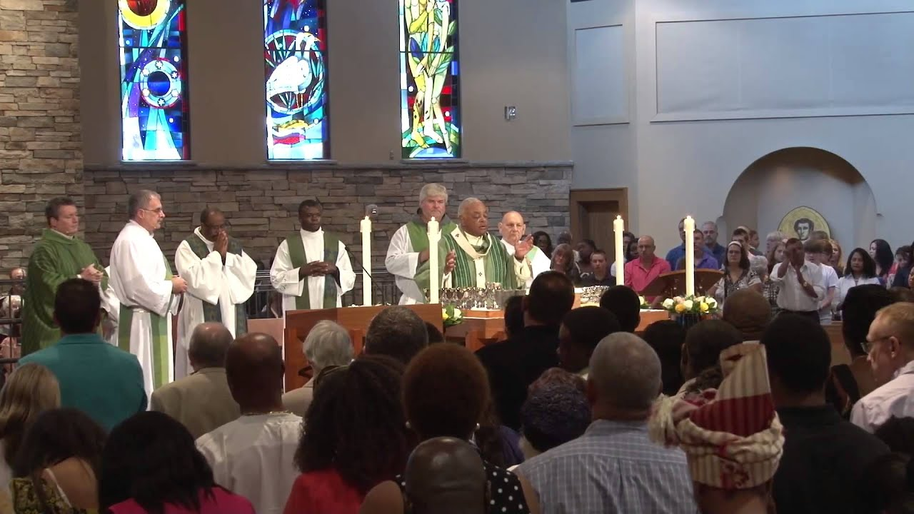 Mass Of Installation St Lawrence Youtube