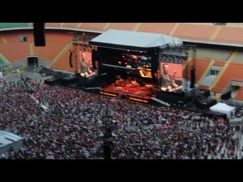 Bruce Springsteen in Milan 3 july 2016 Jackson Cage - Two Hearts