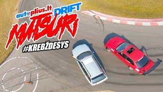 Dalyvaujame Autoplius DriftMatsuri. DRIFT taxi. Andrius vėl sudaužė kompaktą.