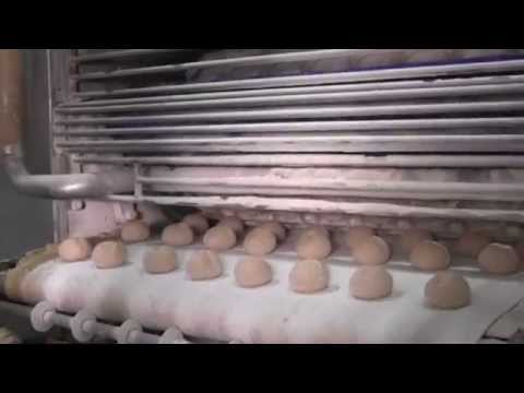 Electrostatic Spray Coating - Pita Bakery Application
