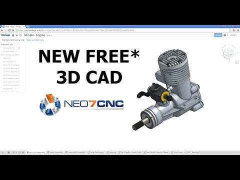 Homemade DIY CNC - NEW Free* 3D CAD Design Software - Neo7CNC.com