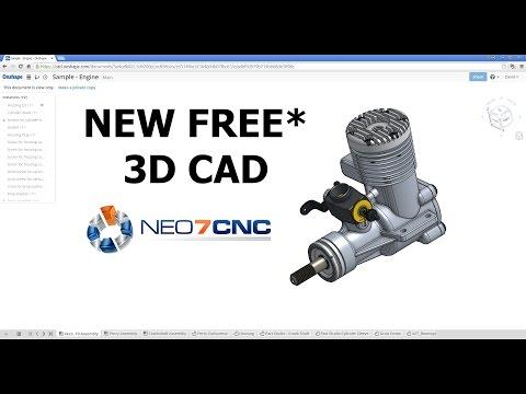 Homemade DIY CNC – NEW Free* 3D CAD Design Software – Neo7CNC.com