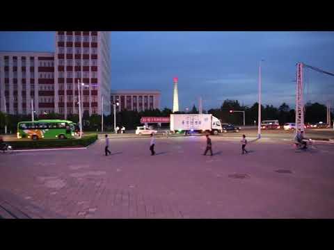 Streets of Pyongyang, North Korea