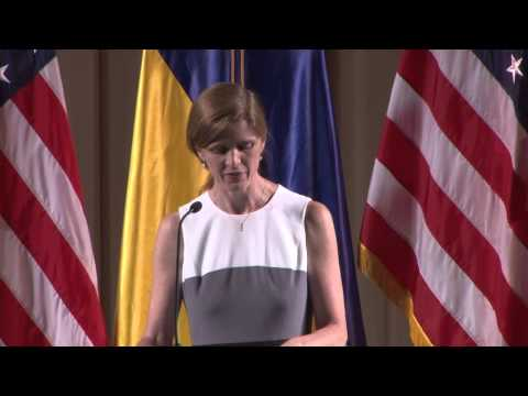 Remarks by Ambassador Power at the October Palace in Kyiv, Ukraine