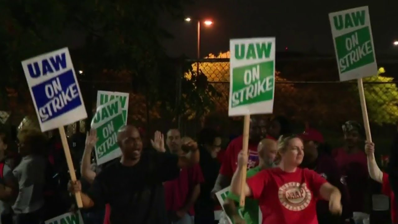 UAW hits GM with nationwide strike