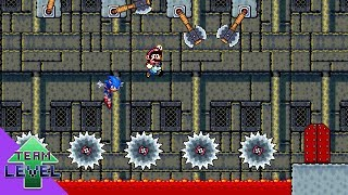 Mario and Sonic's Lava Pit Calamity