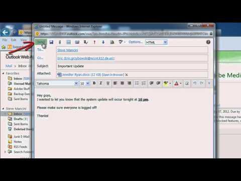 Microsoft Outlook.com - The Basics