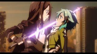 Sword Art Online 2 Episode 6: Sinon vs Kirito ソードアート・オンライン II (Gun Gale Online) Full Story Review