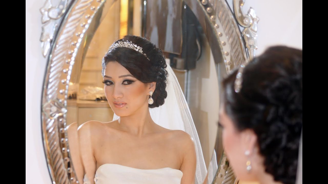 Natural to glamorous wedding bridal hairstyles youtube junglespirit Images