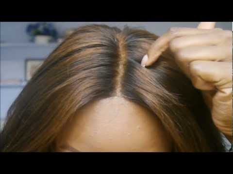 How To Bleach The Knots On A Lace Closure Doovi