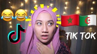Reaction to Algerians & Morrocans Tik Tok    🇩🇿🇲🇦العرب مجانين
