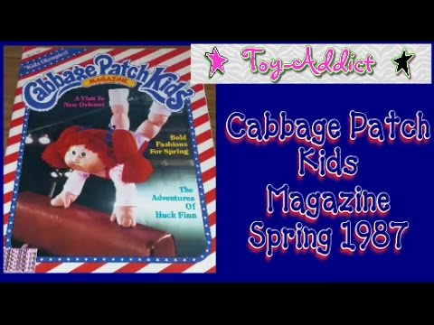 Cabbage Patch Kids Magazine Spring 1987 ~ Fashion, Stories, Bummybees ~ Toy-Addict